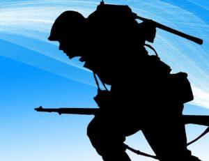 Die Bundeswehr bestand bis zum Jahr 2011 auch aus Wehrpflichtigen.