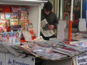 Die Pressefreiheit schützt sowohl klassische Zeitungen als auch neuartige Medien.